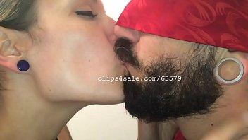 Gabe and Silvia Kissing Video 3