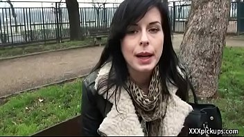 Public Dick Sucking With Euro Secy Amateur Teen Outdoors 28
