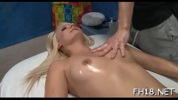 Sexy 18 year old cutie gets fucked hard by her massage therapist!